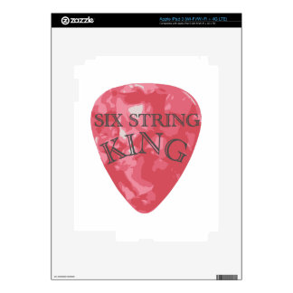 Six String King Decals For iPad 3