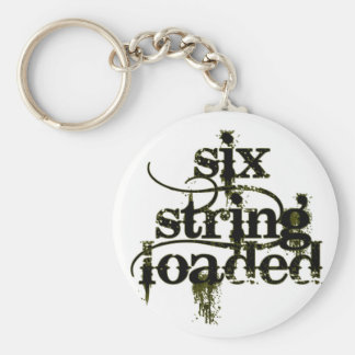 Six String Loaded Keychain