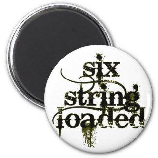 Six String Loaded Magnet
