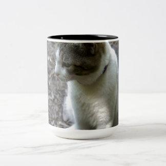 Six Toe Two-Tone Coffee Mug