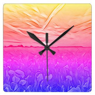 Six Tones Wall Clock