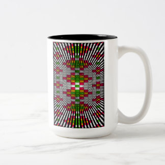 'Six Trees' Two-Tone Coffee Mug
