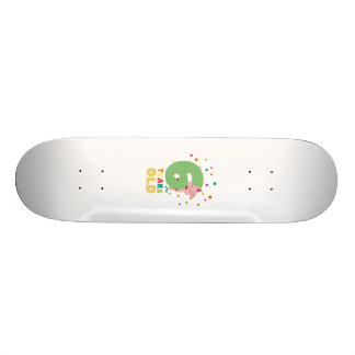 Six Years old sixth Birthday Party Z7oge Skateboard Deck