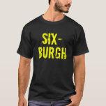 Sixburgh, camisa de los Pittsburgh Steelers