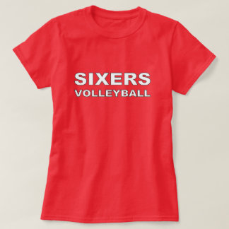 Sixers Volleyball T-Shirt