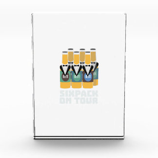 Sixpack Beer on Tour Zn1pu Acrylic Award