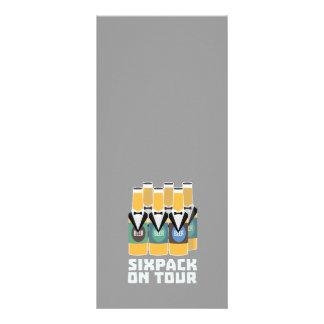 Sixpack Beer on Tour Zn1pu Rack Card