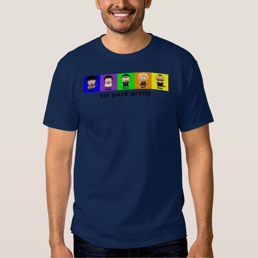 sixpackblue shirt