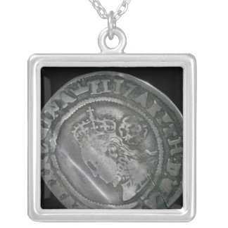 Sixpence Silver Plated Necklace