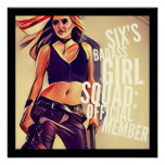 Six's Badass Girl Squad: Poster