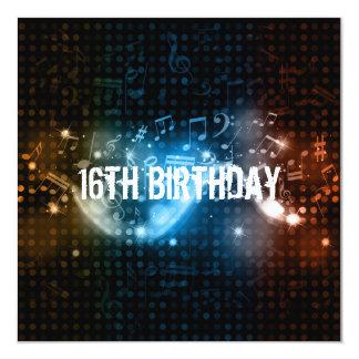 Sixteen Birthday Invitation