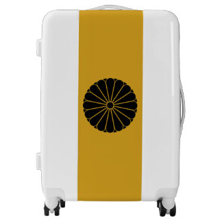 Sixteen-double-petaled chrysanthemum luggage