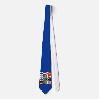 Sixteen Flags of Many Nations T-shirts, Mugs, More Neck Tie