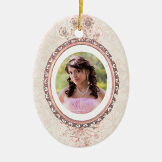 Sixteen Oval Ornament