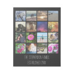 Sixteen Photo with Title Collage or Instagram Gallery Wrap