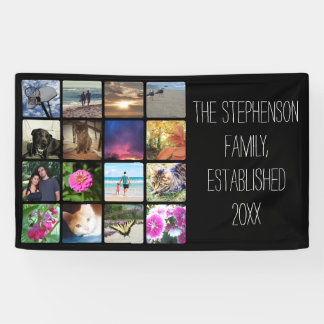 Sixteen Rounded Corners Photo Collage or Instagram Banner