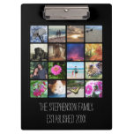 Sixteen Rounded Corners Photo Collage or Instagram Clipboard