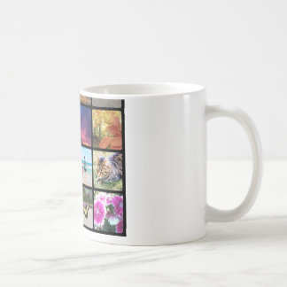 Sixteen Rounded Corners Photo Collage or Instagram Coffee Mug