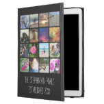 "Sixteen Rounded Corners Photo Collage or Instagram iPad Pro 12.9"" Case"