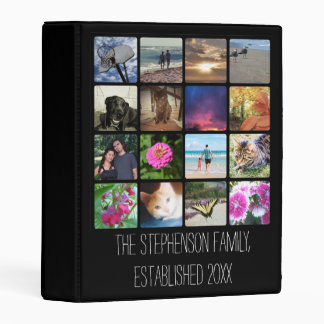 Sixteen Rounded Corners Photo Collage or Instagram Mini Binder