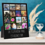 Sixteen Rounded Corners Photo Collage or Instagram Plaque