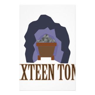 Sixteen Tons Stationery