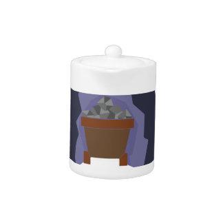 Sixteen Tons Teapot