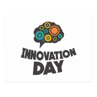 Sixteenth February - Innovation Day Postcard