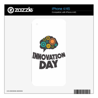 Sixteenth February - Innovation Day Skins For iPhone 4