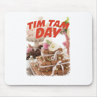Sixteenth February - Tim Tam Day Mouse Pad