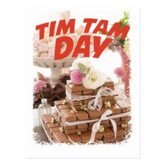 Sixteenth February - Tim Tam Day Postcard