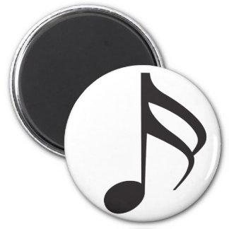 Sixteenth_Note 2 Inch Round Magnet