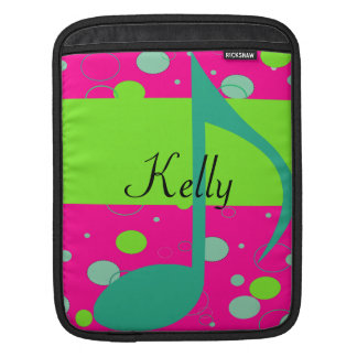 Sixteenth Note Musical Symbol Sleeve For iPads
