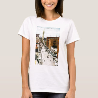 Sixteenth Street from Glenarm Street, Denver, Colo T-Shirt