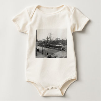 Sixth Avenue & 59th Street View Central Park NYC Baby Bodysuit