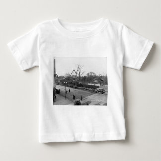 Sixth Avenue & 59th Street View Central Park NYC Baby T-Shirt