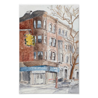 Sixth Avenue, Park Slope Poster