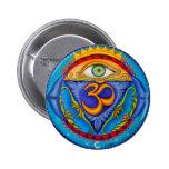 Sixth chakra, Third eye Pinback Buttons