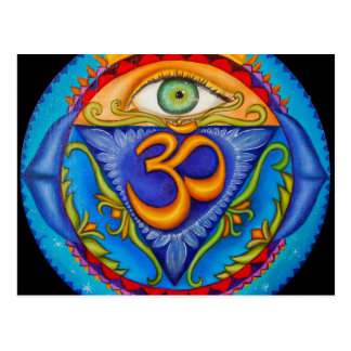 Sixth chakra, Third eye Postcard
