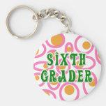 Sixth Grader Key Chain