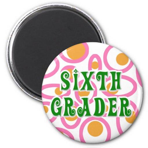 Sixth Grader Refrigerator Magnets