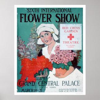 Sixth International Flower Show (US00282) Print