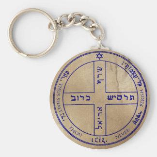 Sixth Pentacle of Jupiter Keychain