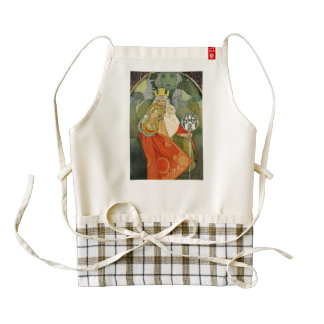 Sixth Sokol Festival Art Zazzle HEART Apron