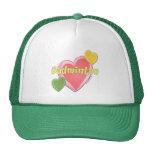 Sixties Badminton Hearts Hats