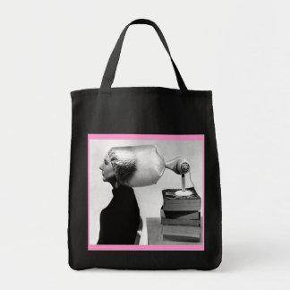 Sixties Beauty Hairdo Tote / Market Bag