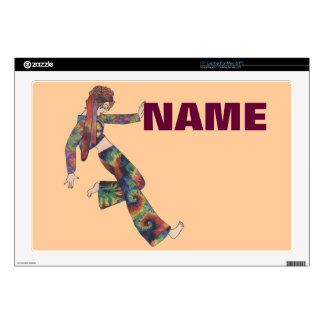 "Sixties Collage Girl 17"" Laptop Skin"