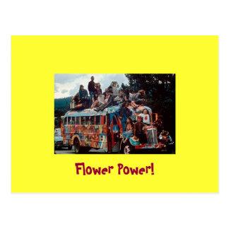 Sixties Hippies Greeting Card