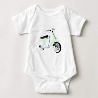 Sixties Mod Scooter Infant Creeper