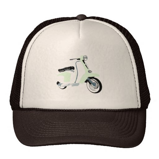 Sixties Mod Scooter Trucker Hats